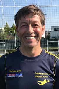 Mathieu Féron, oprichter van Keepersschool Mathieu Féron