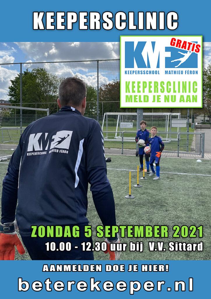 GRATIS Keepersclinic @ V.V. Sittard | Sittard | Limburg | Nederland
